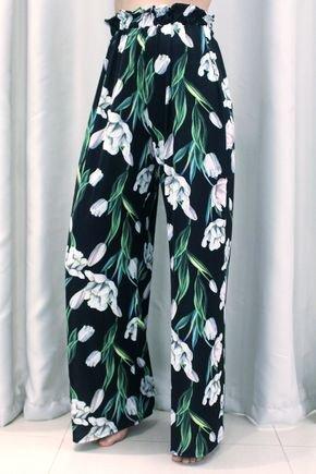 saida de praia calca pantalona com cos drapeado tulipas1